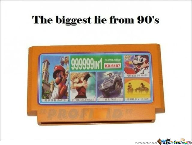 Biggest Lie From 90s