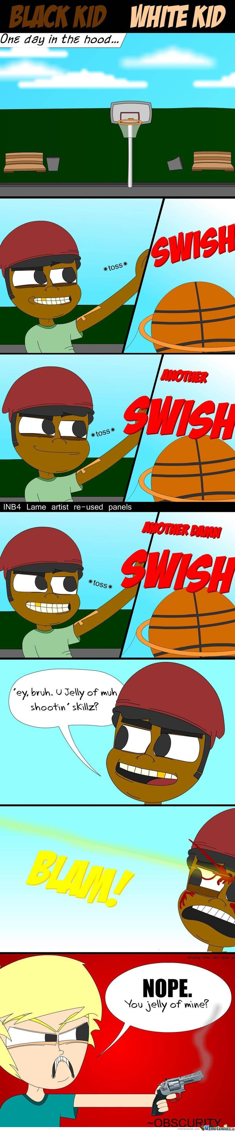 Black Kid White Kid Comic
