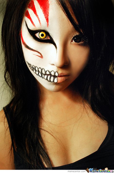 Bleach Cosplay Makeup