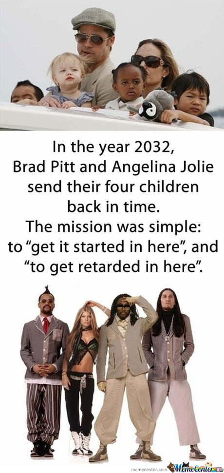 Brangelina Kids - Time Travel