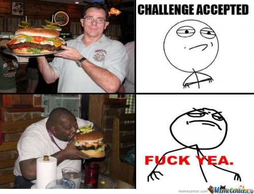 Burger? Challange Accepted.