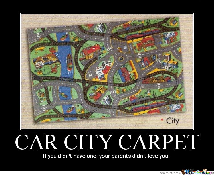 Car city carpet