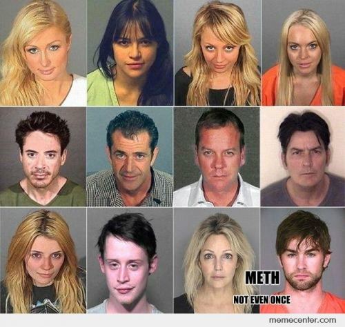Celebrities With Meth
