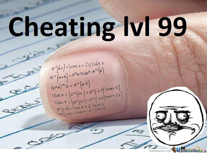 Cheating Level 99