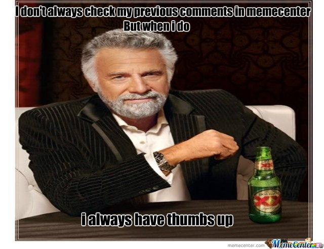 Cheking comment in memecenter