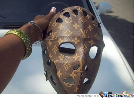 Chic Serial Killer's mask