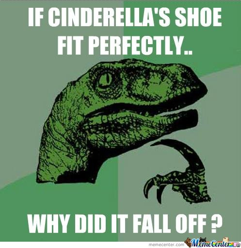 If Cinderella's Shoe Fit Perfectly