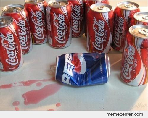 Coca Colas killed Pepsi