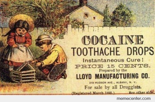 Cocaine Vintage Advertisement