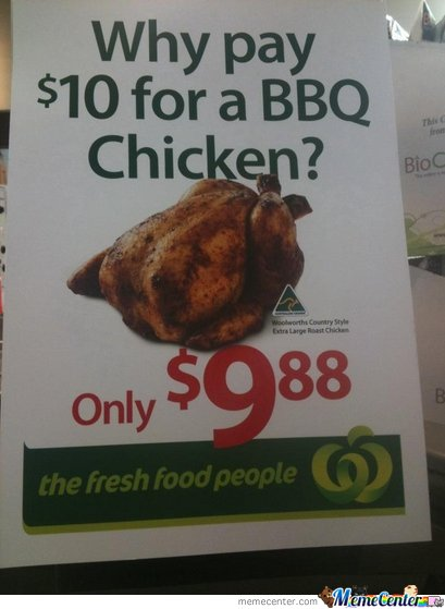 Competitive BBQ Chicken Prices