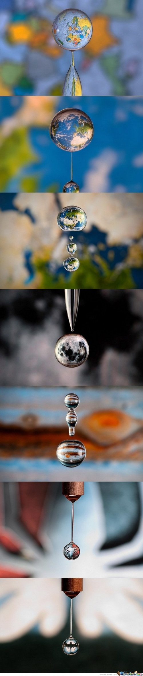 Cool Water Drop Photography