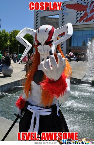 Cosplay Level: Awesome
