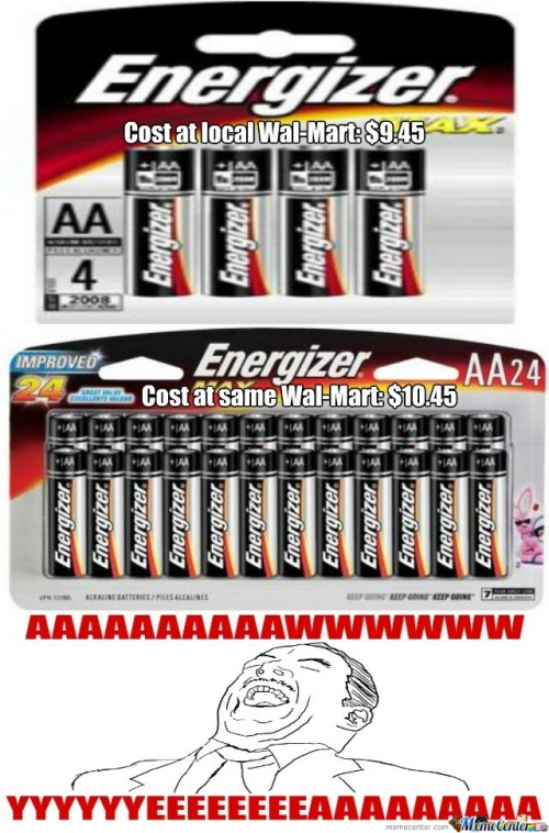 Cost of Batteries