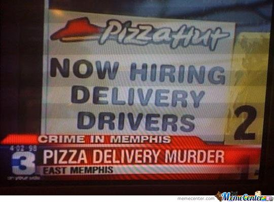 Crime In Memphis! Pizza Delivery Murder