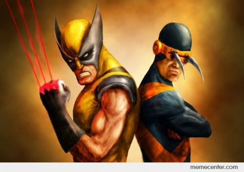 Cyclops And Wolverine Reverse Abilities
