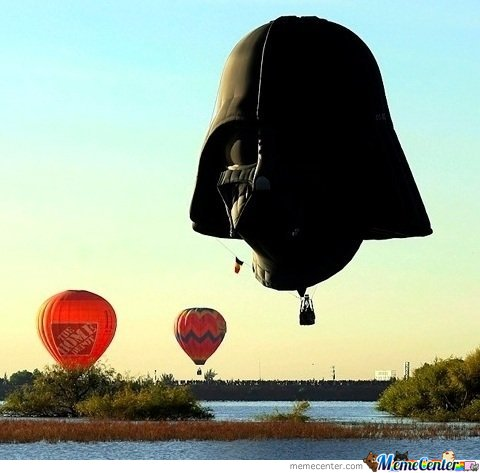 Darth Vader Air Ballon Do Want