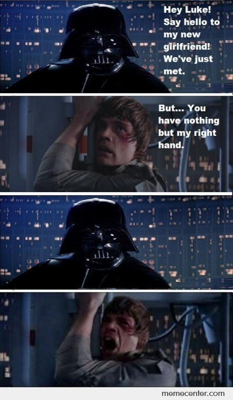 Darth Vader's New Girlfriend