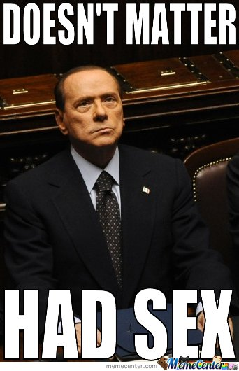 Doesn't Matter For Berlusconi