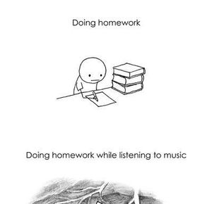 Music to help you do your homework