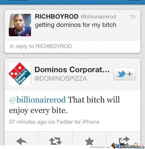Dominos knows how to do it