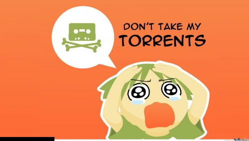 Don't take my torrents!