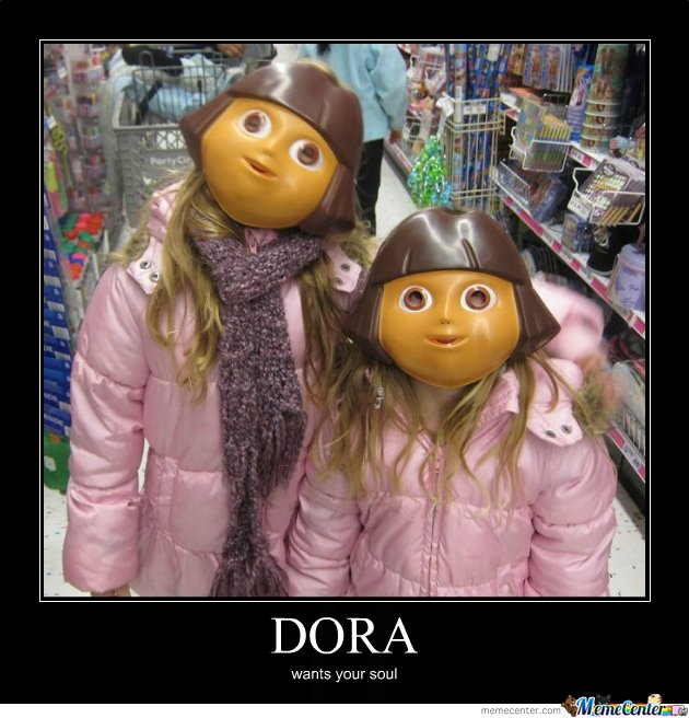 Dora demotivational