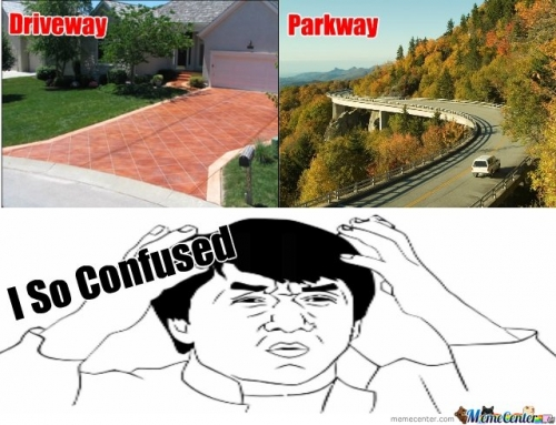 Driveway And Parkways