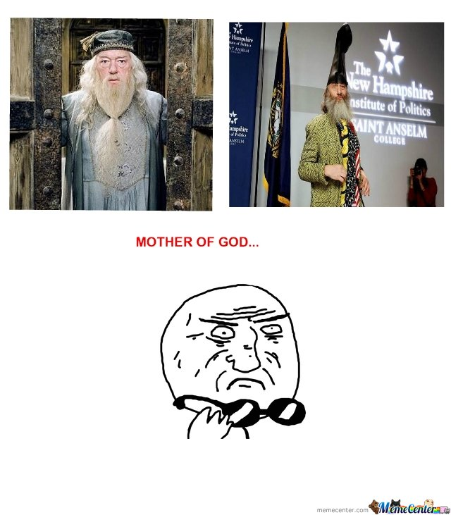 Dumbledore VS Vermin Supreme