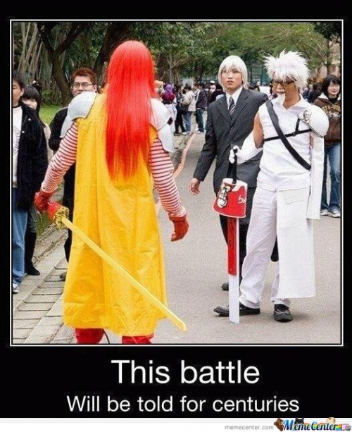 Epic Battle : Mcdonalds vs KFC