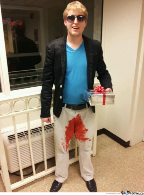 Epic D**k In The Box Halloween Costume