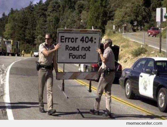 Error 404 Everywhere