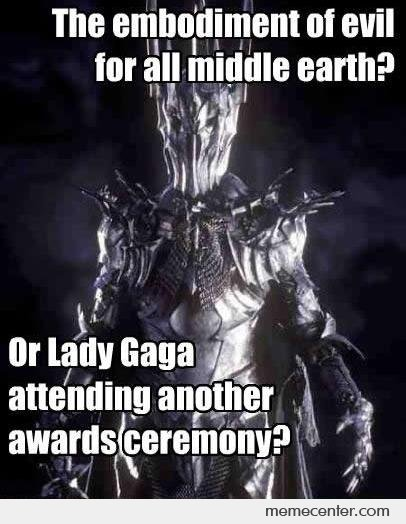 Evil or Lady Gaga?