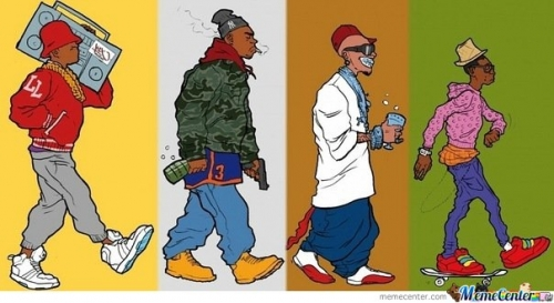Evolution of hip hop