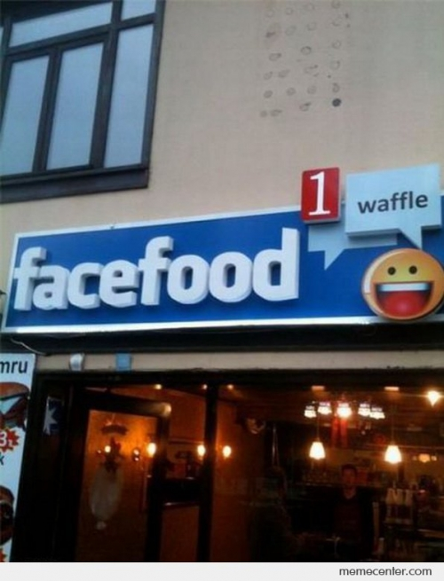 Facefood Waffle Shop in Turkey