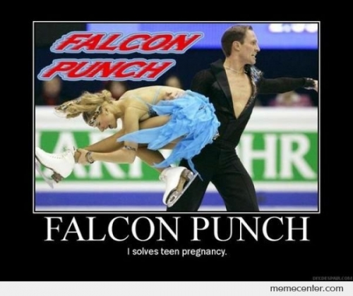 Falcon Punch Solves Teen Pregnancy