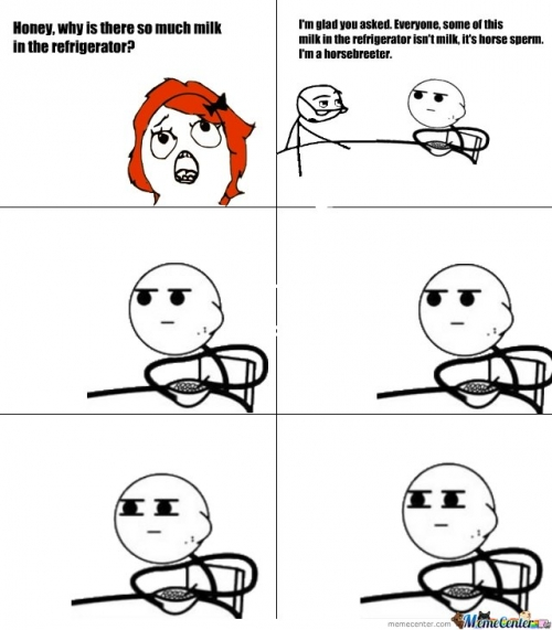 Funny Meme Cereal Guy : Pics for gt meme faces cereal guy comics