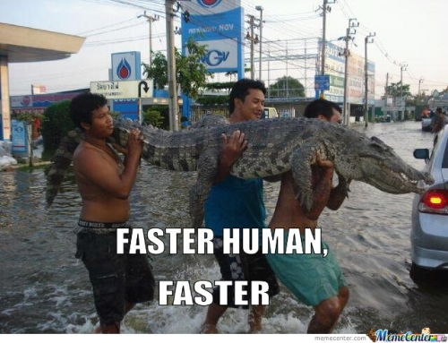 Faster Human, Faster