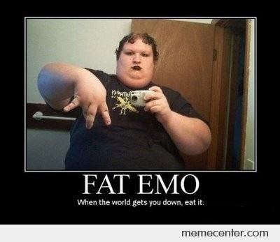 Fat Emo: Eat the Depression Away