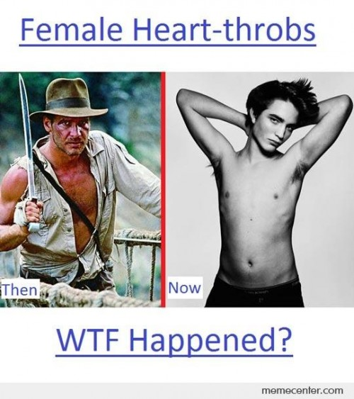 Female Heart-Throbs: Then And Now