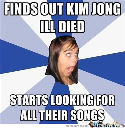 Finds Out Kim Jong Ill Died