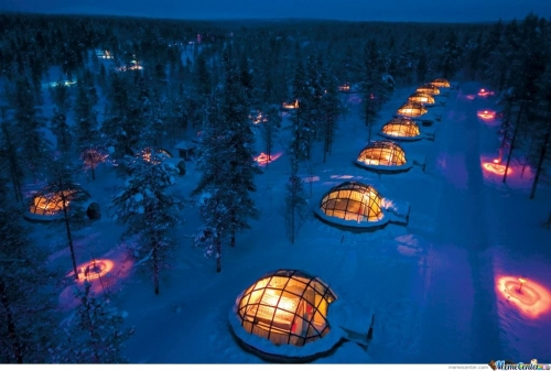 Finnish Hotel And ?gloo Resort