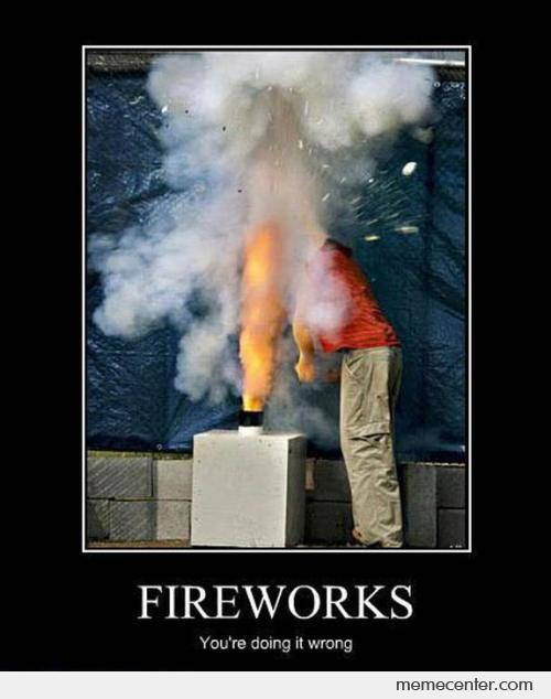 Fireworks Fail