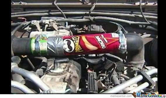 Fix it with pringles