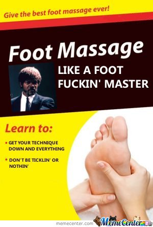 Foot massage : Like a foot f****' master