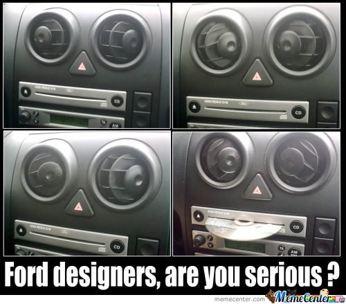 Ford Designers, are you serious?