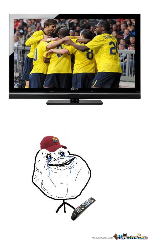 Forever Alone Is Barcelona Fan!