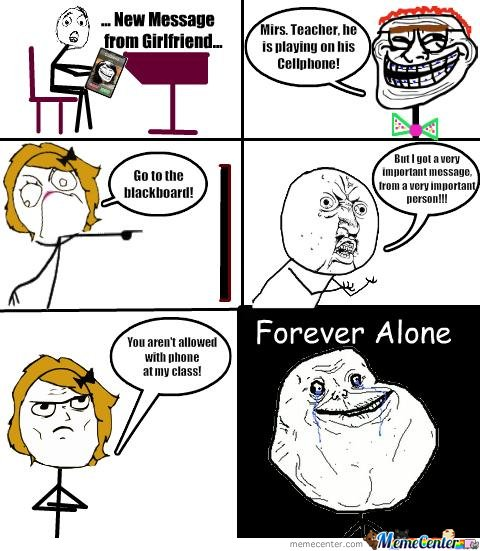 Forever alone pupil