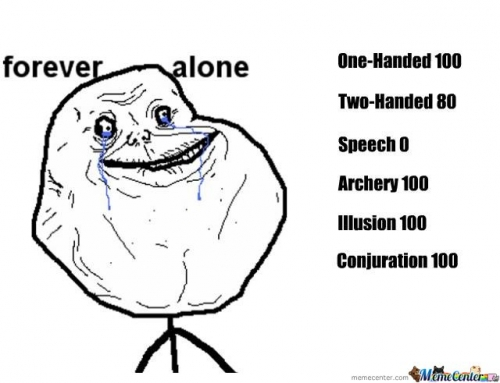 Forever Alone Stats