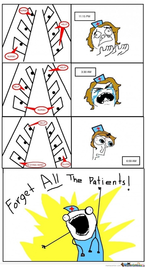 Forget All The Patients!