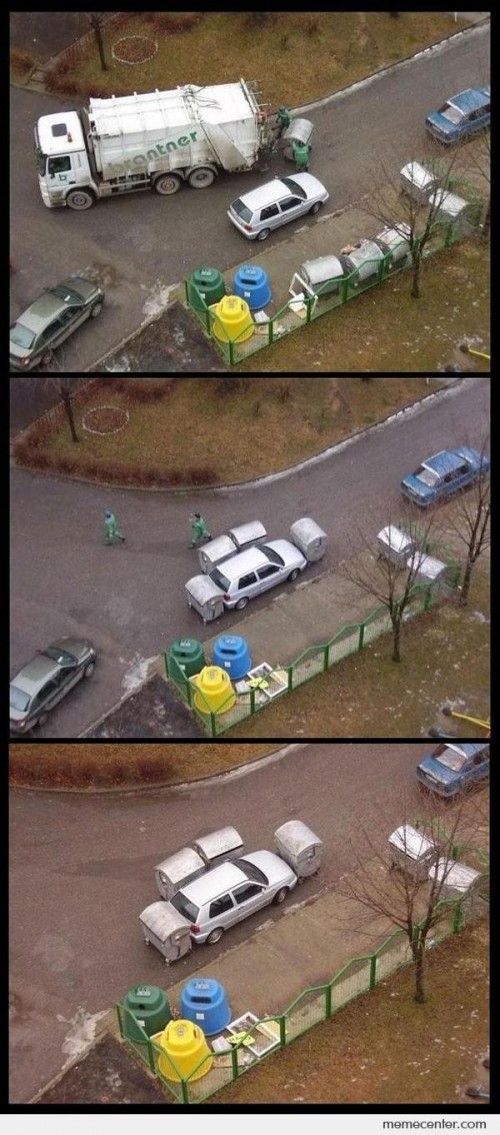 Garbage Men Revenge